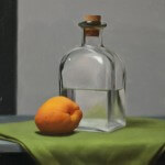 Demonstration Painting from Still Life Class at Vitruvian Fine Art Studio.